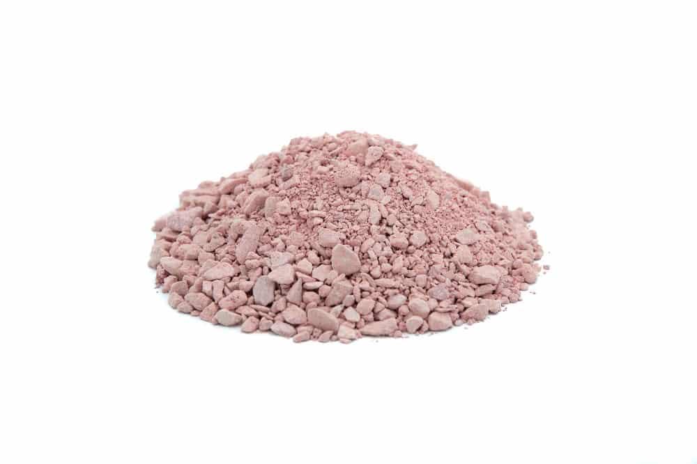 Sable de marbre rose pour terrains de pétanque