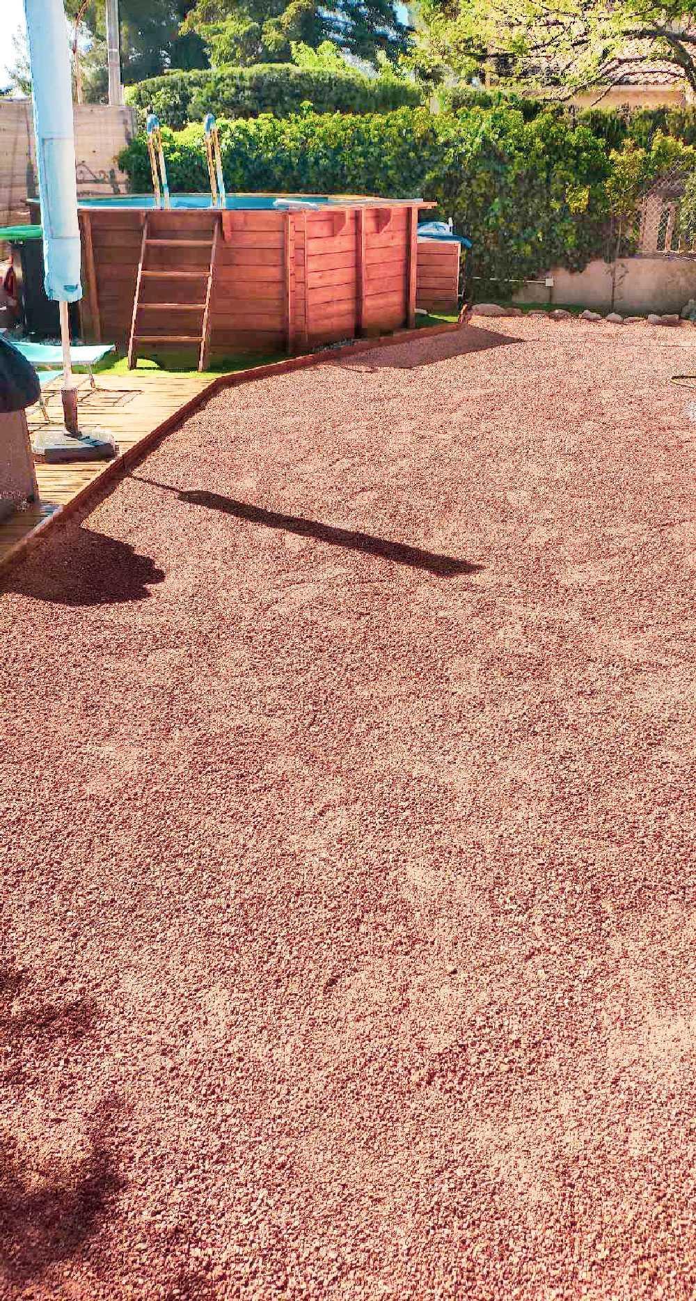 Livraison de sable à terrain de pétanque