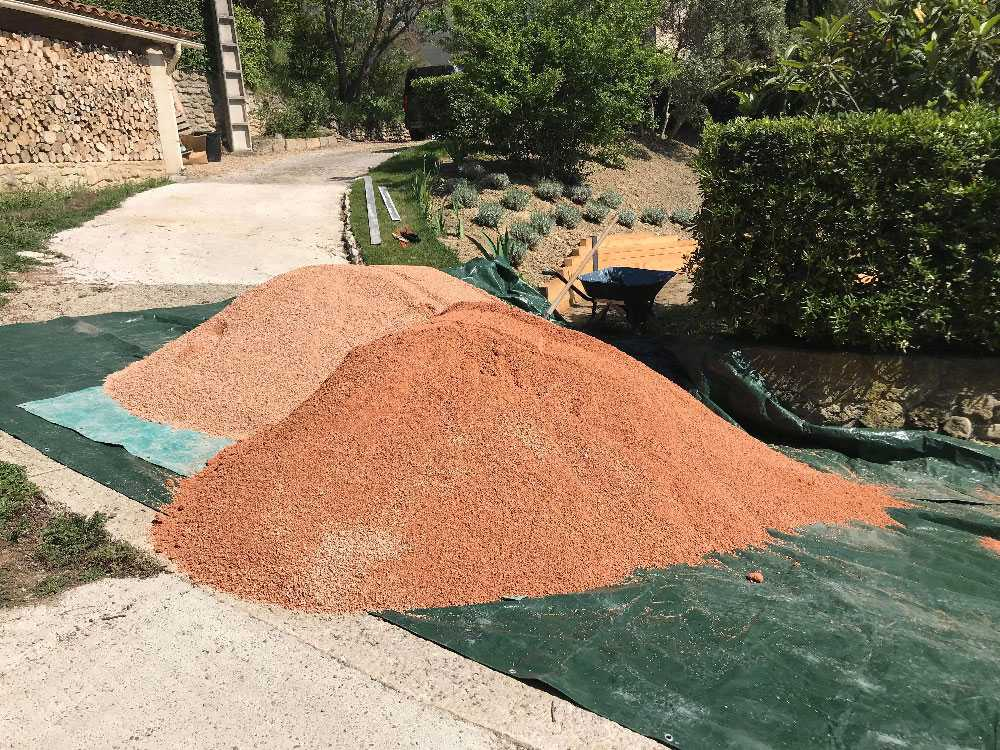 Achat sable terrain de boule