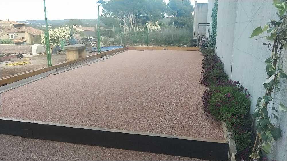 Acheter du sable pour terrain de pétanque près de Marseille
