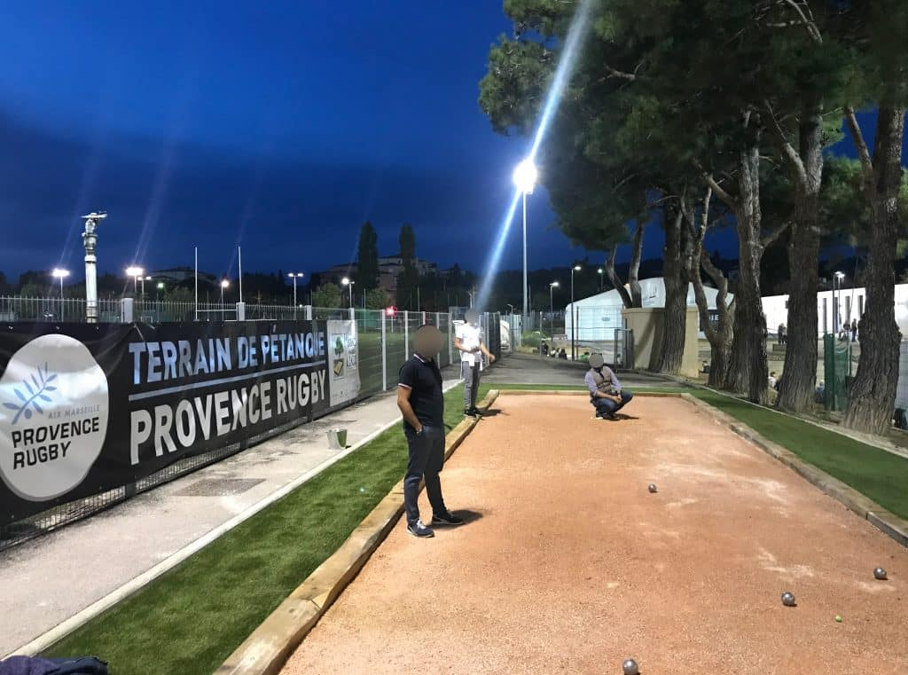 Terrain de pétanque Aix en Provence
