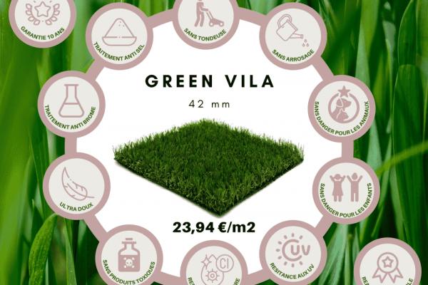 Carrière Vila - Gazon synthétique - pelouse synthétique