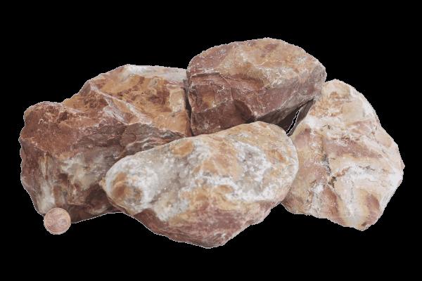 Gravier, Gravillon, Gabion, Concassé, Caillou, Galet, Sable pétanque de marbre rose CARRIERE VILA PIERRE A GABION 90:150